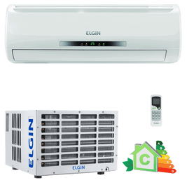 Ar Condicionado Split Window Elgin Compact 7.000 BTUs Frio 220 Volts - CONJ HW WINDOW FR 07.000 BTUS 220V ELGIN