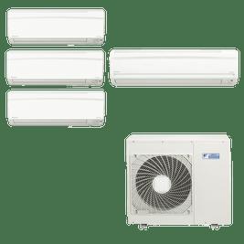 Ar Condicionado Multi Split Daikin Advance 3x 9.000 BTUs + 1x 24.000 BTUs Quente / Frio 220V