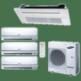 Ar Condicionado Free Joint Multi Samsung 3x 11.900 + Cassete 1 Via 1x 11.900 Btus Quente / frio 220V
