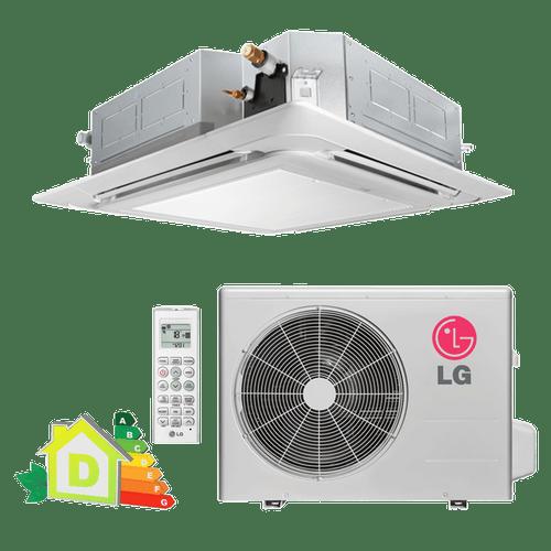 Conjunto-ar-condicionado-split-cassete-LG-quente-frio-24000-btus
