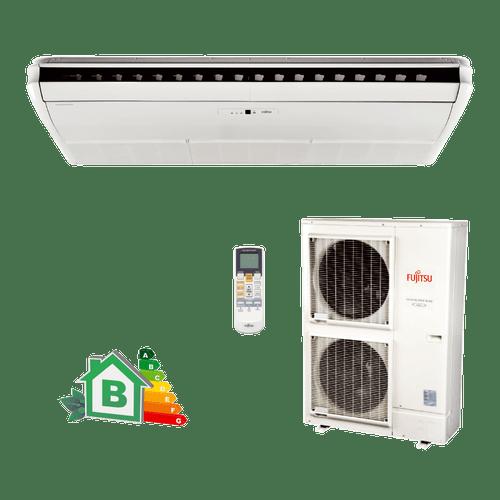Conjunto-Ar-Condicionado-Split-Teto-Inverter-Fujistu-42000-Btus-Quente-Frio-380v-Trifasico