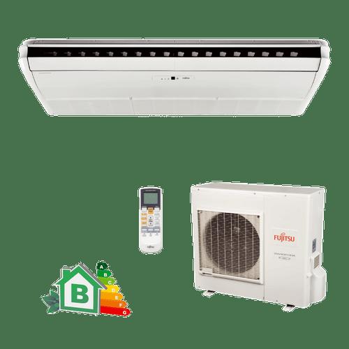Conjunto-Ar-Condicionado-Split-Teto-Inverter-Fujistu-32000-Btus-Quente-Frio-220v-Monofasico