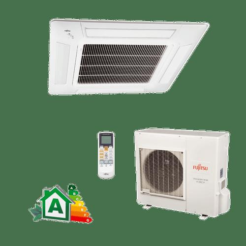 Conjunto-Ar-Condicionado-Split-Cassete-Inverter-Fujitsu-32000-Btus-Quente-Frio-220v-Monofasico