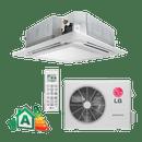 Conjunto-Ar-Condicionado-Split-Cassete-Inverter-Lg-25000-Btus-Frio-220v-Monofasico