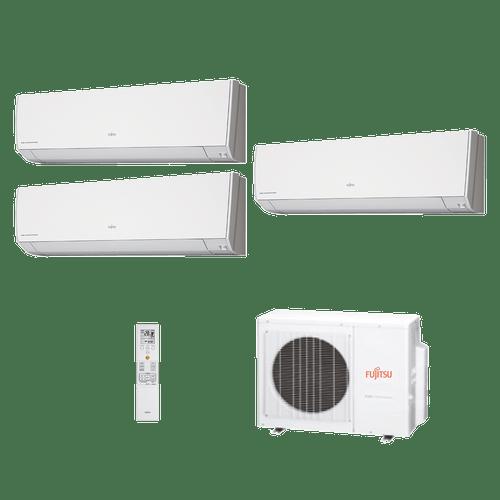Conjunto-Multi-split-Inverter-Fujitsu-3x7000Btus-Quente-Frio-220