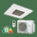 Conjunto-Ar-Condicionado-Split-Cassete-Compacto-Inverter-Fujitsu-23000-Btus-Quente-Frio-220v-Monofasico