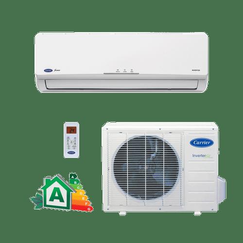 Conjunto-Ar-Condicionado-Split-Hi-Wall-Carrier-Inverter-Novo-x-power-12000-Btus-Quente-Frio