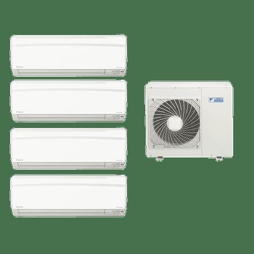 Conjunto-Ar-Condicionado-Multi-Split-Daikin-Advance-3x9000-Btus-1x12000-Btus-Quente-Frio-220V