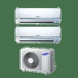 Conjunto-Ar-Condicionado-Free-Joint-Multi-Samsung-2x9000-Btus-Quente-Frio-220V