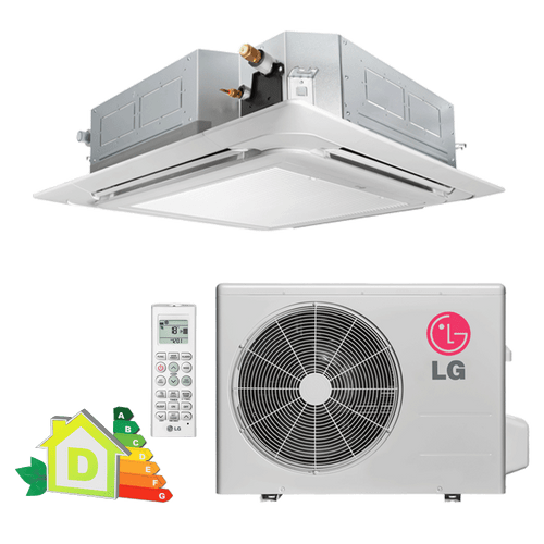 Conjunto-ArCondicionado-Split-Cassete-LG-28000-BTUs-Quente-Frio-220V-Monofasico