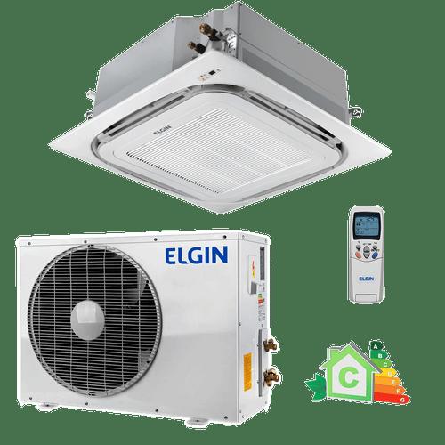 Conjunto-Ar-Condicionado-Split-Cassete-Elgin-36000-Btus-220v-monofasico
