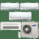 Conjunto-ar-condicionado-free-joint-multi-samsung-inverter-2x-8900-1x-11900-cassete-1-via-1x-11900-btus-quente-frio-220v-mh026fnba-mh035fnba-mh035fsba-rj080f4hxba