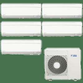 Ar Condicionado Multi Split Daikin Advance 4x 9.000 + 1x 12.000 BTUs Quente / Frio 220V