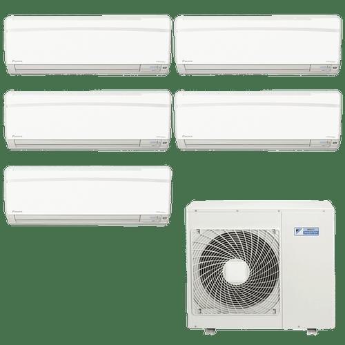Conjunto-ar-condicionado-multi-split-daikin-advance-3x-9000--2x-12000-btus-quente-frio-220v-ftxs25kvm-ftxs35kvm-5mxs110lvm