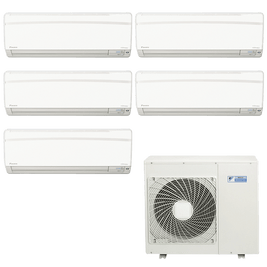 Ar Condicionado Multi Split Daikin Advance 2x 9.000 + 3x 12.000 BTUs Quente / Frio 220V
