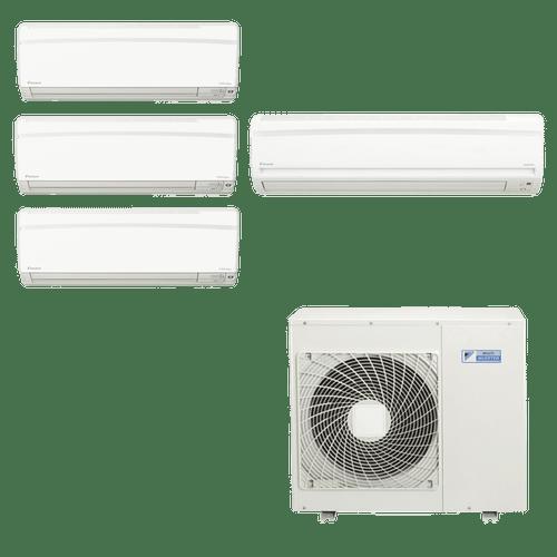 Conjunto-ar-condicionado-multi-split-daikin-advance-3x-9000---1x-21000-quente-frio-220v-ftxs25kvm-ftxs60kvm-4mxs80kvm