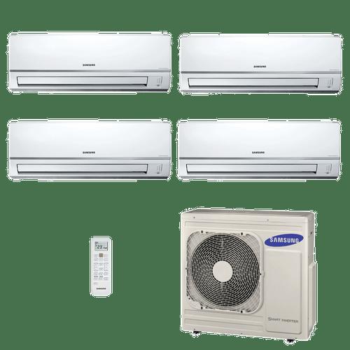 Conjunto-Ar-Condicionado-Free-Joint-Multi-Samsung-Inverter-3x-11.900---1x-17.100-BTUs-Quente-Frio-220V