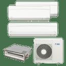 Conjunto-ar-condicionado-multi-split-daikin-advance-2x-9000-1x-18000---duto-1x-18000-quente-frio-220v-ftxs25kvm-ftxs50kvm-cdxs50kvm-4mxs100kvm