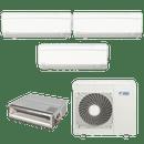 Conjunto-ar-condicionado-multi-split-daikin-advance-3x-12000---duto-18000-quente-frio-220v-ftxs35kvm-cdxs50kvm-4mxs100kvm