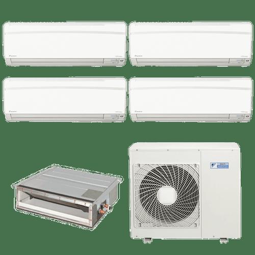 Conjunto-ar-condicionado-multi-split-daikin-advance-4x-9000---duto-18000-quente-frio-220v-ftxs25kvm-cdxs50kvm-5mxs110lvm