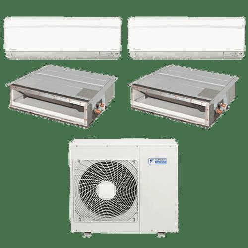 Conjunto-ar-condicionado-multi-split-daikin-advance-2x-9000---duto-18000-quente-frio-220v-ftxs25kvm-cdxs50kvm-4mxs100kvm