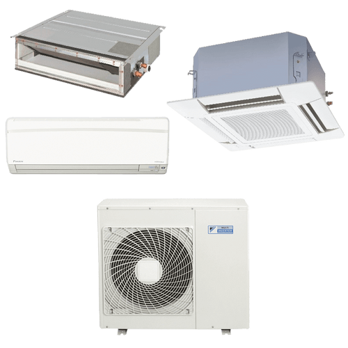 Conjunto-ar-condicionado-multi-split-daikin-advance-1x-12000---cassete-4-vias-1x-12000--duto-1x-18000-quente-frio-220v-ftxs35kvm-ffq35kvl-cdxs50kvm-4mxs80kvm