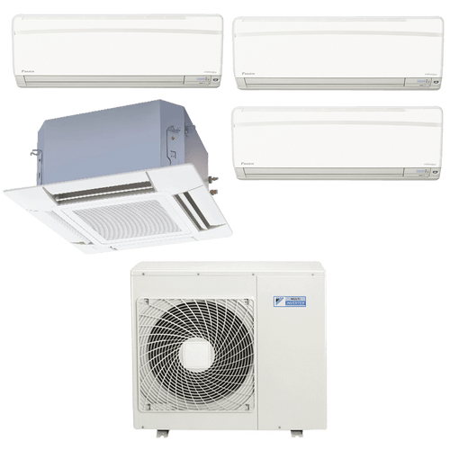 Conjunto-ar-condicionado-multi-split-daikin-advance-3x-9000---cassete-4-vias-1x-12000-quente-frio-220v-ftxs25kvm-ffq35kvl-4mxs80kvm