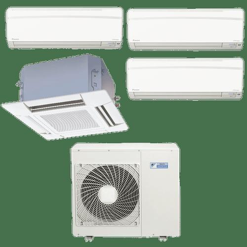 Conjunto-ar-condicionado-multi-split-daikin-advance-3x-9000---cassete-4-vias-1x-18000-quente-frio-220v-ftxs25kvm-ffq50kvl-4mxs80kvm