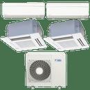 Conjunto-ar-condicionado-multi-split-daikin-advance-2x-9000---cassete-4-vias-2x-18000-quente-frio-220v-ftxs25kvm-ffq50kvl-4mxs100kvm