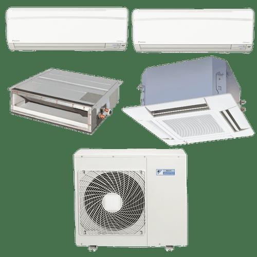 Conjunto-ar-condicionado-multi-split-daikin-advance-2x-9000---cassete-4-vias-1x-18000--duto-1x-18000-quente-frio-220v-ftxs25kvm-ffq50kvl-cdxs50kvm-4mxs100kvm