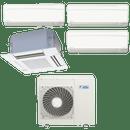 Conjunto-ar-condicionado-multi-split-daikin-advance-3x-12000---cassete-4-vias-1x-18000-quente-frio-220v-ftxs35kvm-ffq50kvl-4mxs100kvm