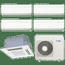 Conjunto-ar-condicionado-multi-split-daikin-advance-4x-9000---cassete-4-vias-1x-18000-quente-frio-220v-ftxs25kvm-ffq50kvl-5mxs110lvm
