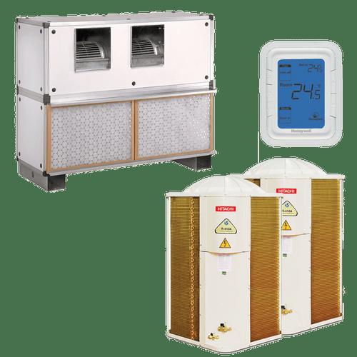 Conjunto-ar-condicionado-multi-split-splitao-r410a-hitachi-10-tr-frio-380v-trifasico-rvt100cxp-rtc100cnp-rap050e7l-kco0040-kco0054