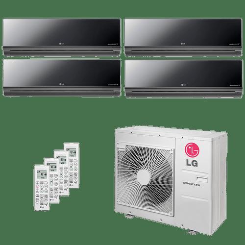 Conjunto-ar-condicionado-multi-split-inverter-lg-artcool-4x-9600-btus-quente-frio-220v-amnw09gdbr0-a5uw30gfa0