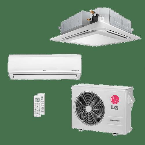 Conjunto-ar-condicionado-multi-split-inverter-lg-1x-12300-1x-cassete-19100-btus-quente-frio-220v-amnw12geba0-atnh18gqle2-a3uw21gfa0