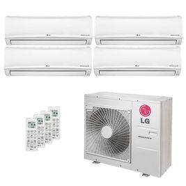 Ar Condicionado Multi Split LG 30.000 BTUs ( 3x Evap HW 9.600 + 1x Evap HW 19.100 ) Quente / Frio 220V AMNW09GEBA0 | AMNW18GECA0 | A5UW30GFA2
