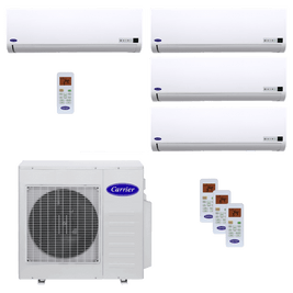 Ar Condicionado Multisplit Inverter Carrier 3x 9.000 BTUs + 1x 18.000 BTUs Quente / Frio 220V