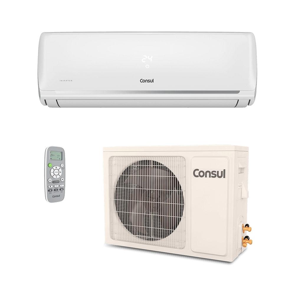 e0f0213ca Ar Condicionado Split HW Inverter Consul 9.000 BTUs Quente Frio 220V.  Comprar.