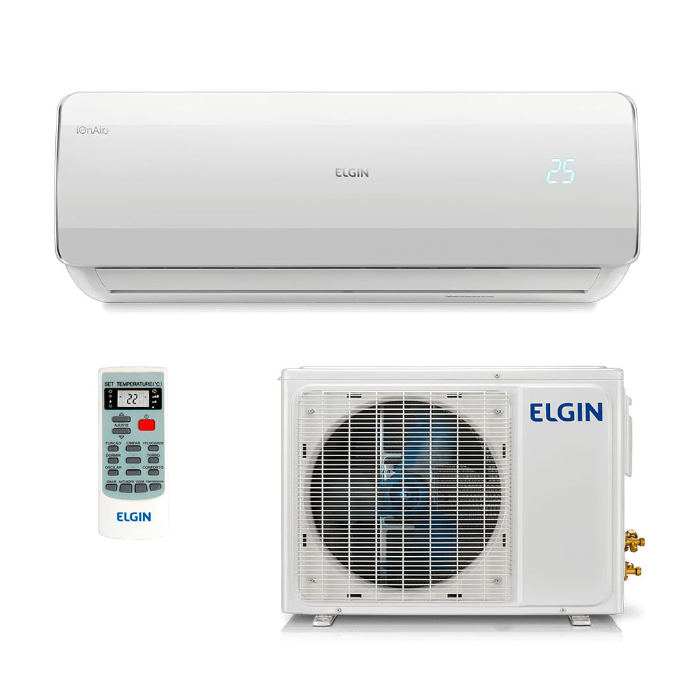 f3600057b Ar Condicionado Split HW Elgin Eco Power 12.000 BTUs Só Frio 220V ...