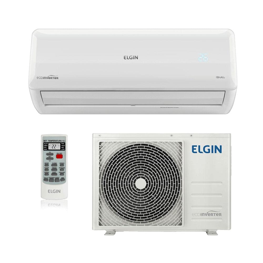 61a26815f Ar Condicionado Split HW Inverter Elgin Eco 12.000 BTUs Só Frio 220V ...