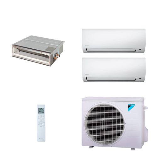 Ar-Condicionado-Multi-Split-Daikin-Quente-Frio-220V