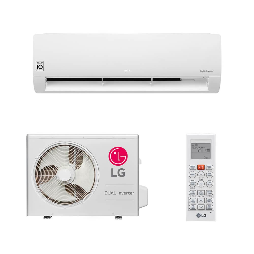 a72738441 Ar Condicionado Split HW LG Dual Inverter 22.000 BTUs Quente Frio ...