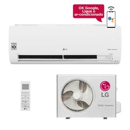 Ar-Condicionado LG Dual Inverter Voice 24.000 BTUs