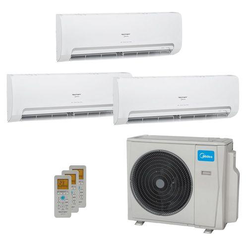 Ar-Condicionado Multi Split Inverter Springer Midea 3 Ambientes