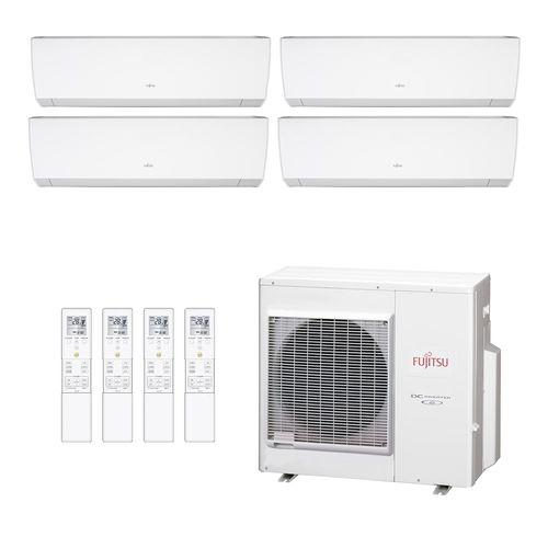 Ar-Condicionado Multi Split Inverter Fujitsu 4 Ambientes