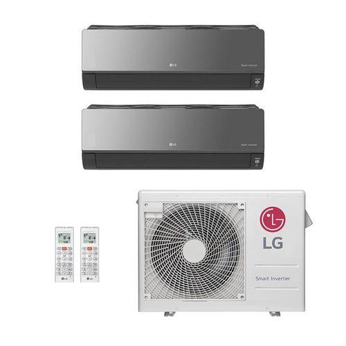 Ar-Condicionado Multi Split Inverter LG Artcool 2 Ambientes