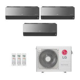 Ar-Condicionado Multi Split Inverter LG Artcool 3 Ambientes