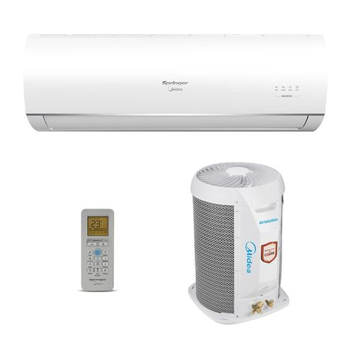 Ar-Condicionado Split HW Inverter Air Volution Springer Midea 22000 BTUs Frio