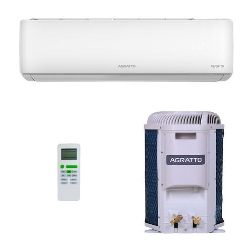 Ar-Condicionado Split HW Inverter Agratto Eco Top 9.000 BTUs Só Frio 220V