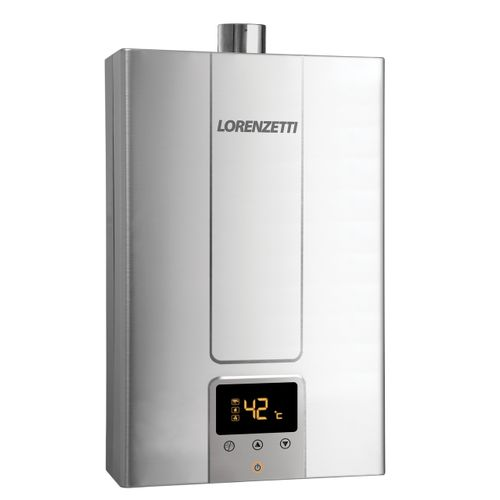 Aquecedor de Água a Gás Lorenzetti LZ 2000DE-I GLP 20 Litros Bivolt